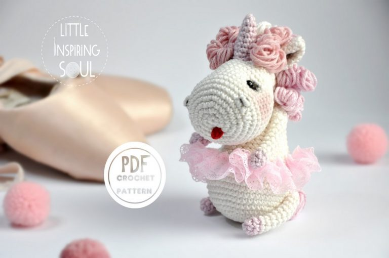 licorne crochet pattern